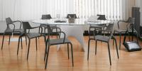 Designer Glas-Esstisch LUXX von GREEN Design, Italien