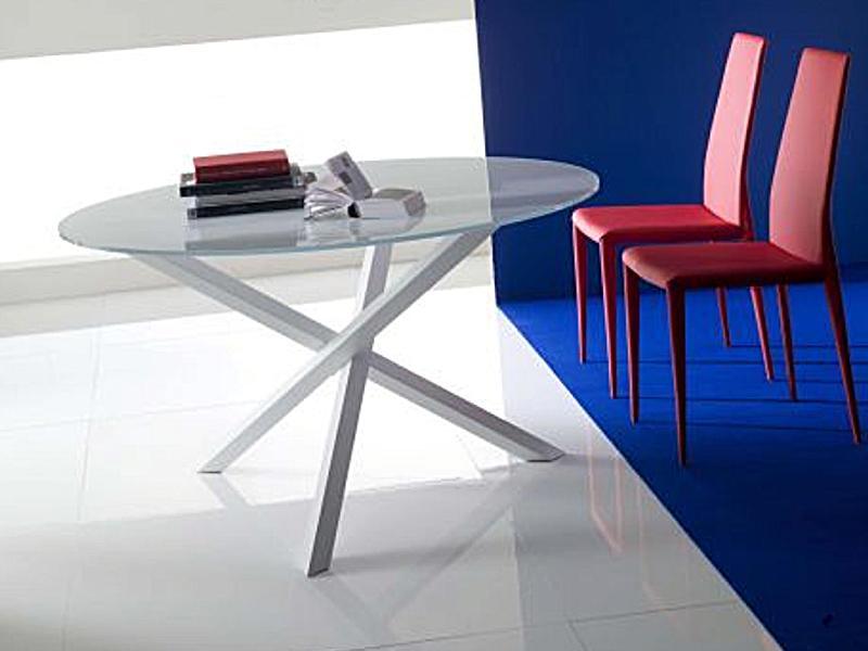 esstisch glas rund neuesten design. Black Bedroom Furniture Sets. Home Design Ideas