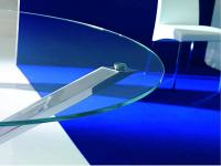 Designer Glas-Esstisch  TRIO  von  INGENIA, Italien