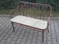 Bugholz-Sitzbank im Thonet-Stil S-6653/16
