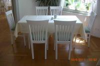 Klassischer Holzstuhl KIEL, mit Sitzpolster oder Holzsitz
