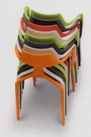 Armlehn-Kunststoffstuhl  SHARK  von GREEN Design, Italien