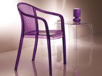 Kunststoff-Sessel IMPERIALE von M.B.Sedie, Italien