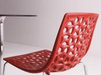 Designer Kunststoffstuhl  TESS  von ALL KIT, Italien