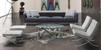 Couch-Glastisch LIBRA von Kubikoff, Italien