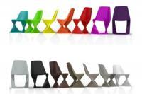 Pop Design Kunststoff-Stuhl  ISO  von QUI EST PAUL, Frankreich
