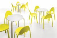 Designer Kunstoff-Tisch DROP von INFINITI Design, Italien