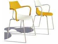 Designer Armlehn-Kunststoffstuhl  IRON SHARK von GREEN Design