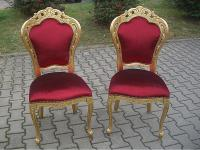 Barock Stuhl von Seven Sedie Reproductions, Italien