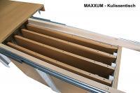 Kulissen-Esstisch MAXXUM mit bis zu 6 Einlagen