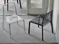 Designer Kunststoffstuhl FUTURA von Target Point New, Italien