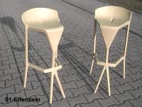 Designer Barhocker  SHIVER von GABER Design, Italien