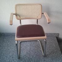 Bauhaus Freischwinger VIENNA, CESCA, Sitz gepolstert