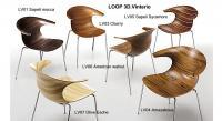 Designer Armlehnstuhl LOOP 3D Vinterio - Italien