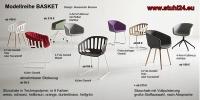 Kunststoff-Armlehnstuhl BASKET von GARBER Design
