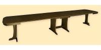 Maxi-Kulissentisch GIGA, ausziehbar bis 480 cm