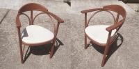RONDO - Bugholz-Armlehnstuhl im Thonet-Stil