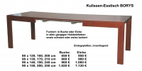 Kulissen-Esstisch BORYS