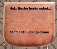 Ersatz-Sitzplatten für Freischwinger VIENNA, mit Polsterplatte