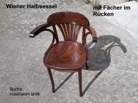 Bugholzstuhl - Wiener Halbsessel B-165