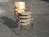 Holzschalen-Armlehnstuhl  BINGO