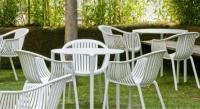 Terrassen-Armlehnstuhl  TATAMI von Pedrali, Italien
