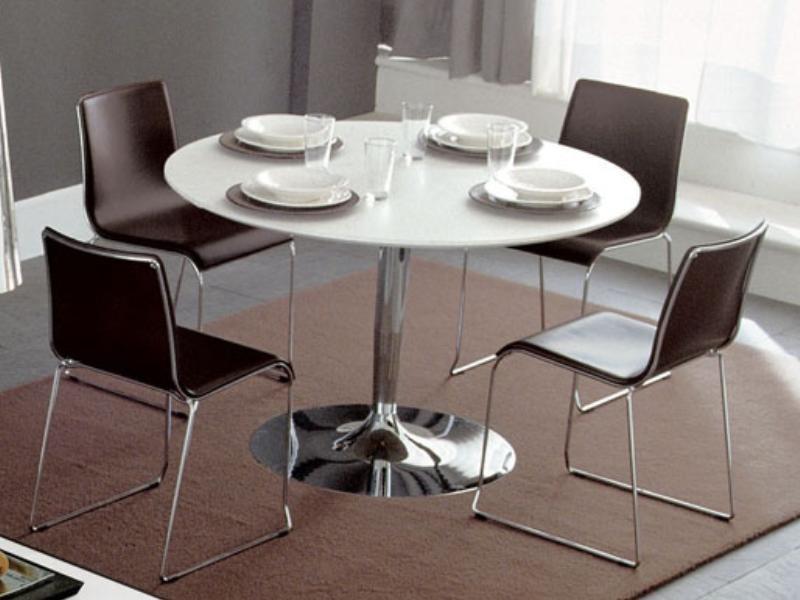 Tischplatte rund bauhaus neuesten design for Asiatischer esstisch