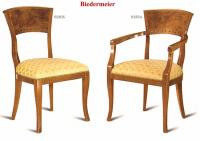 Stuhl Armlehnstuhl Biedermeier Stilmöbel Italien